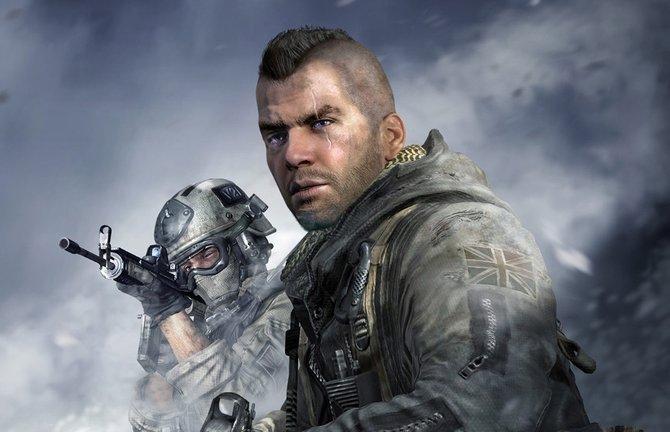 In Modern Warfare 1 spielt ihr zumeist als Soap McTavish vom britischen SAS.