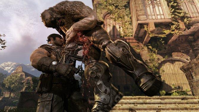 In Gears of War 3 scheint öfter ...