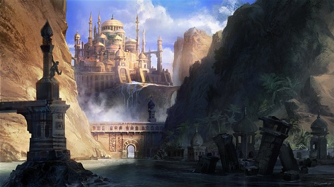 So sah Maliks Königreich vor einmarsch der feindlichen Armee aus.