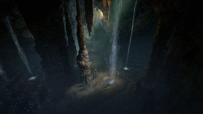 Dragons's Dogma: Düstere Grotten beherbergen neben der Dunkelheit noch weitere Gefahren.