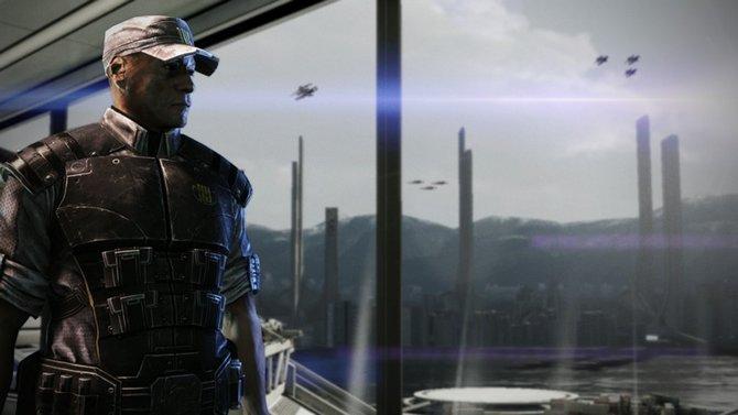 Mass Effect 3: Kaptain Anderson ist wieder mit von der Partie.