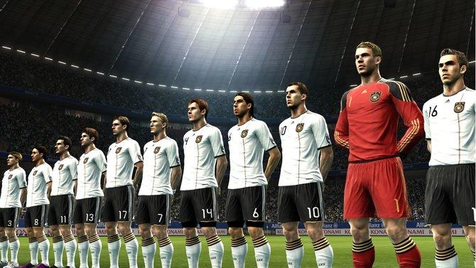 Die deutsche Nationalmannschaft ist mit allen Original-Spielern vertreten.