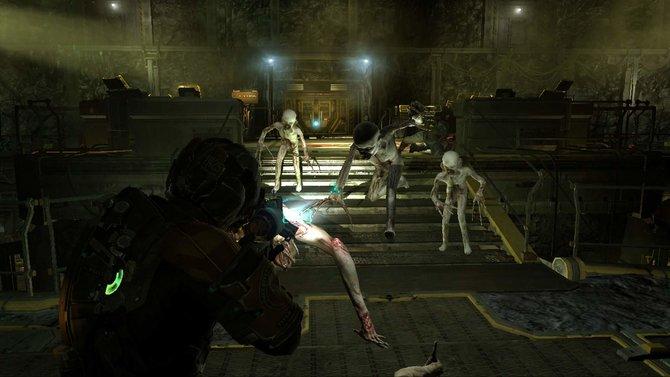Dead Space 2: Das bekannte Pack wird sich euch auch in den neuen Inhalten in den Weg stellen.