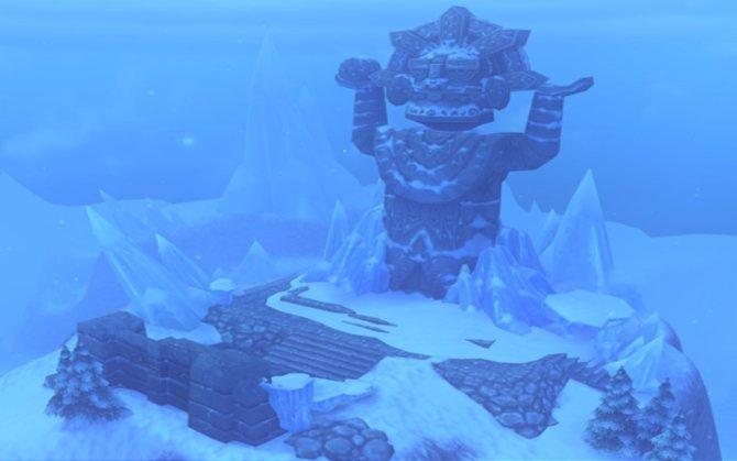 Die Allod der großen Eisschmelze ist ein Kampfgebiet für Spieler ab Level 40.