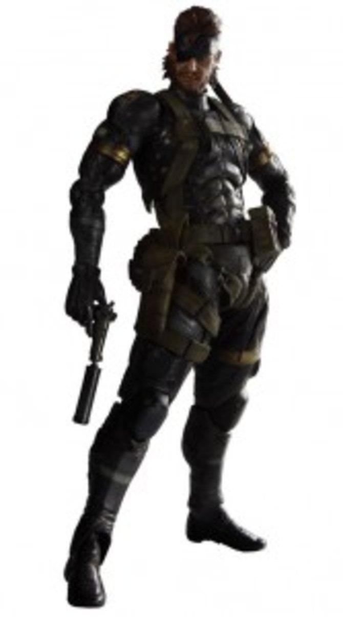 Solid Snake als Action-Figur.