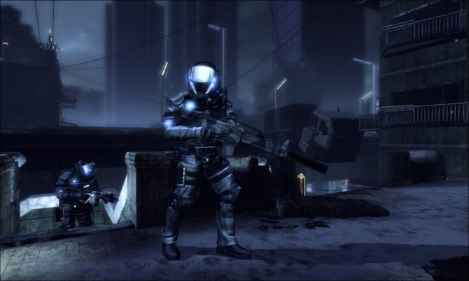 Blacklight - Tango Down: Ein Soldat der Einsatztruppe Blacklight.