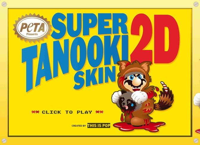 Mario trägt Pelz und untertützt somit Tierquälerei - laut PETA.