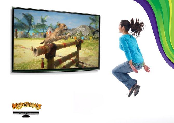 Mit der Xbox 360 zum Löwendompteur: Kinectimals