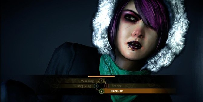 Nach jedem Bosskampf habt ihr die Wahl über Leben und Tod.