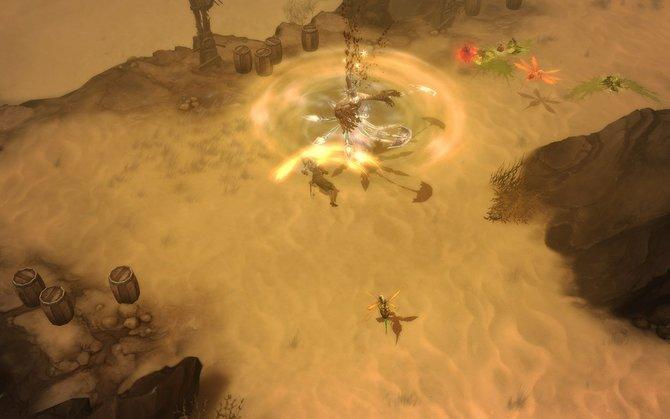 Diablo 3: Die Wüste beherbergt ebenfalls viele verschiedene Gegner.