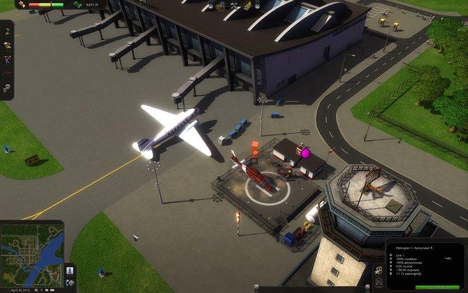 Flughäfen gehören auch zum Verkehrssystem