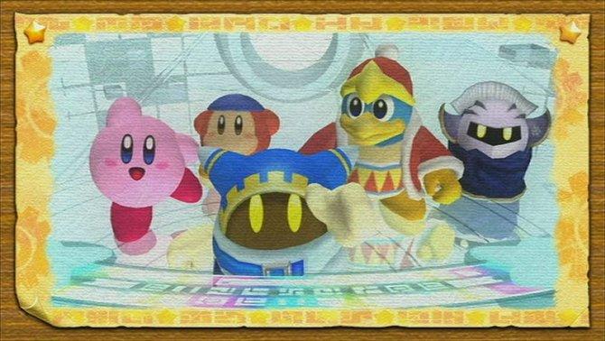 Kirby bekommt Unterstützung von seinen Freunden (links). Ihr habt ...