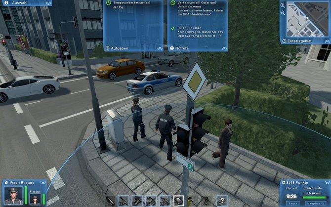 Polizei - zwei Superhelden in einer Stadt voller Verbrecher.