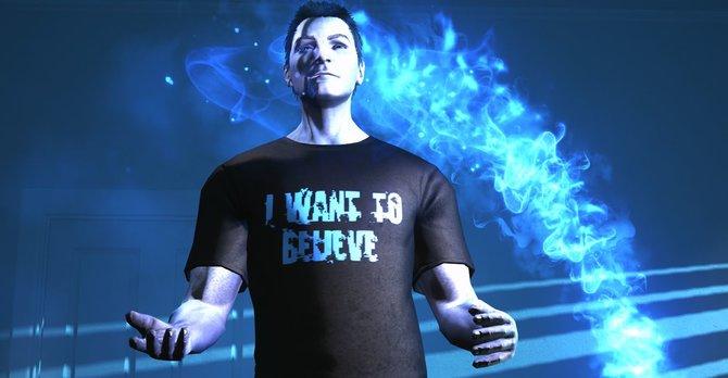 Dieser Herr möchte glauben ... In The Secret World kann er das, denn: Alles ist wahr!
