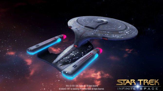 Auch im Browser soll Star-Trek-Atmosphäre aufkommen.