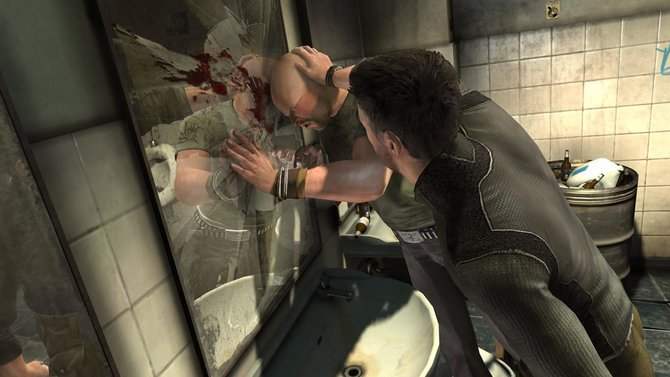 "Splinter Cell - Conviction: Sam Fisher ""befragt"" einen Informanten"