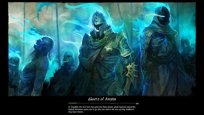 """""""Geister von Ascalon"""" ist die erste Instanz im Spiel, verfügbar für Spieler ab Stufe 35."""