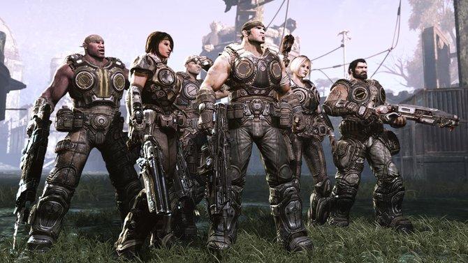 Die Gears-of-War-3-Helden freuen sich schon auf den Einzug in deutsche Wohnzimmer.