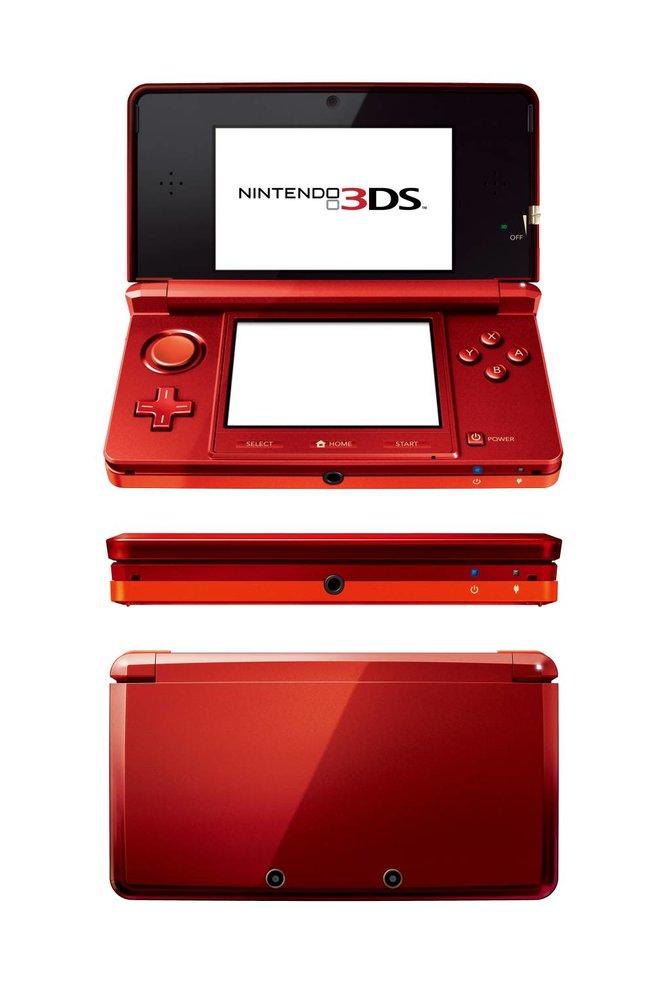 Der 3DS erscheint im nächsten Jahr in verschiedenen Farbvarianten.