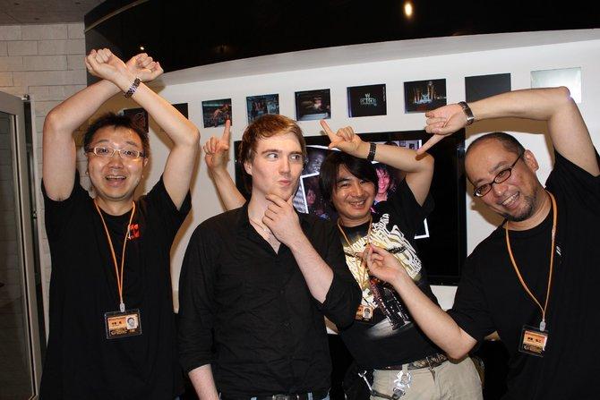 Die Entwickler waren begeistert, als sie von der Ankunft eines spieletipps-Redakteurs erfuhren.