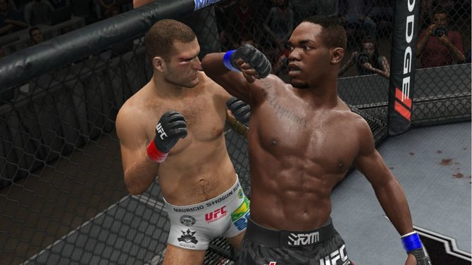 Mit dem Ellenbogen ins Gesicht. Das gehört in UFC zum guten Ton.