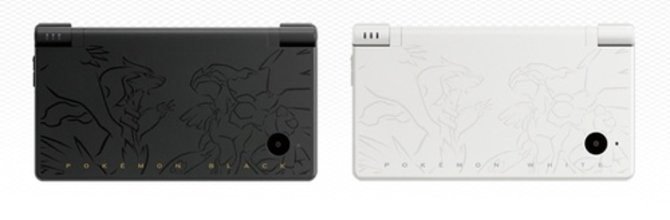 Die beiden neue DSi-Geräte werden durch die beiden legendären Cover-Pokémon geziert.