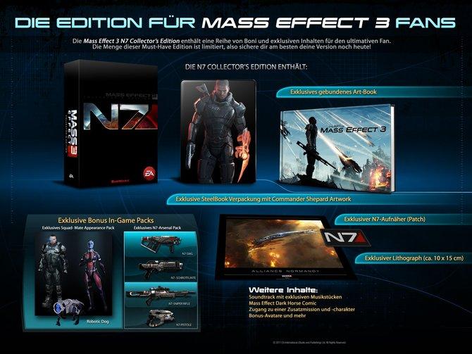 Das ist die Sammler-Edition von Mass Effect 3.