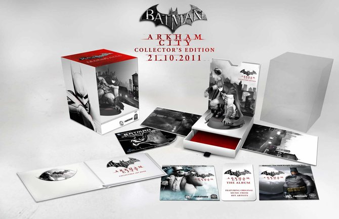In der Sammler-Edition gibt es eine Batman-Statue als exklusiven Inhalt.