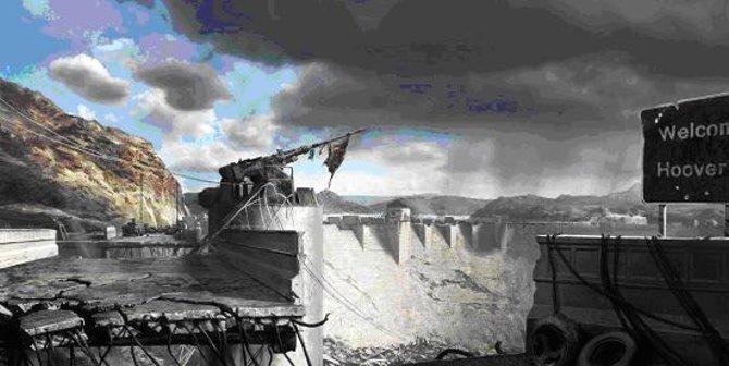 Hoover-Damm - Schauplatz des zentralen Schlachtfelds der Spiel-Fraktionen.