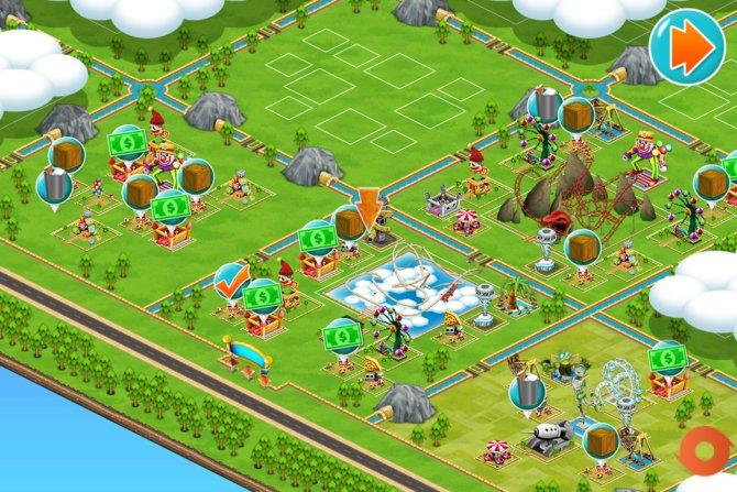 Euer Freizeitpark sieht gut aus, doch hier ist noch viel Platz für weitere Attraktionen.