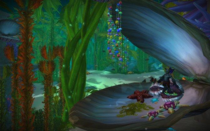 Mit Cataclysm gibt es erstmals ein komplettes Unterwassergebiet: Vashjir.