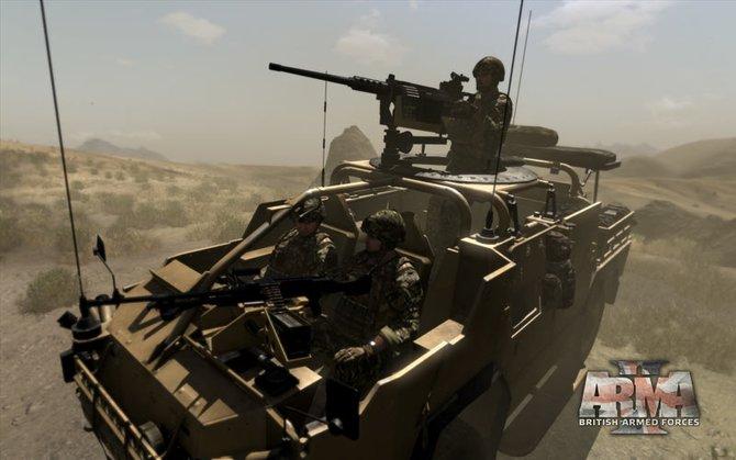 Moderne Panzerwagen passen zu modernen Kampfsimulatoren.