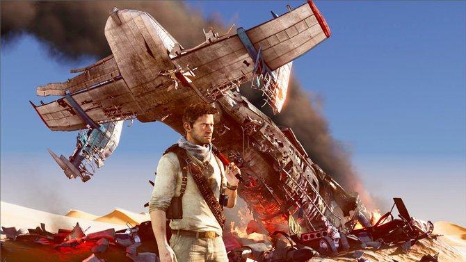 Nach einem spektakulären Flugzeugabsturz befindet sich Drake in der größten Sandwüste der Welt.