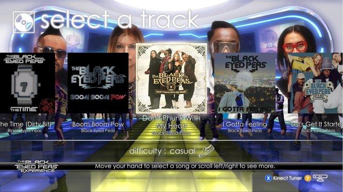 Wählt aus 30 Hits der Black Eyed Peas aus, wonach ihr tanzen wollt.