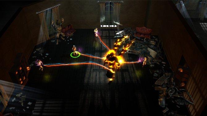 Ghostbusters - Sanctum of Slime: Auch alte, klappernde Rüstungen können gefährlich werden.