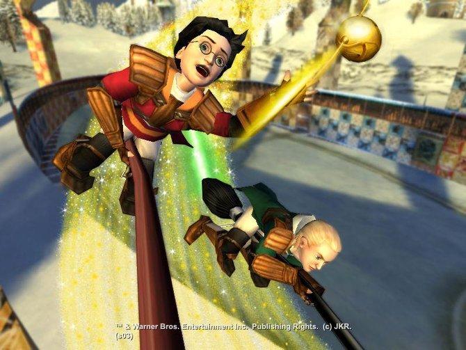Harry ist ein passionierter Quidditch-Spieler und liefert EA somit eine weitere Einnahmequelle.