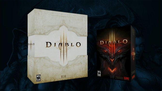 Erstmals zu sehen: Die Verpackungen von Diablo 3.