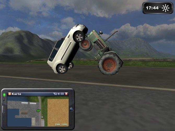 Kräftemessen rustikal: Landwirtschaft Simulator 2011