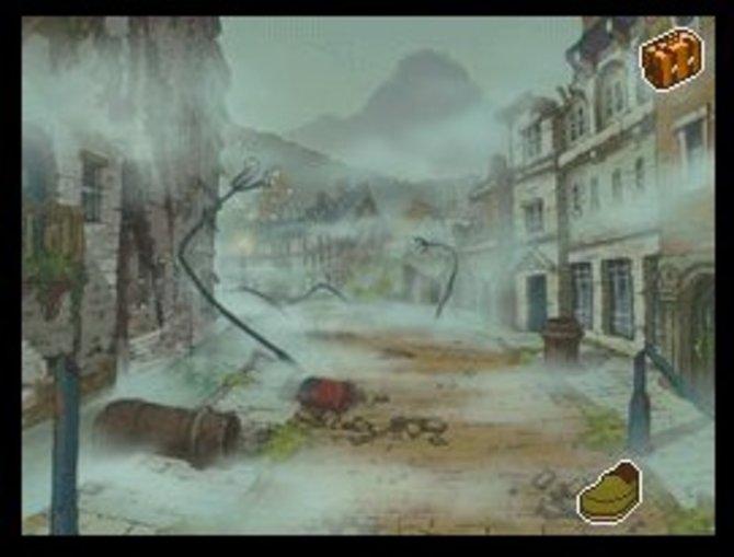Schauplatz ist der nebelverhangene Ort Misthallery.