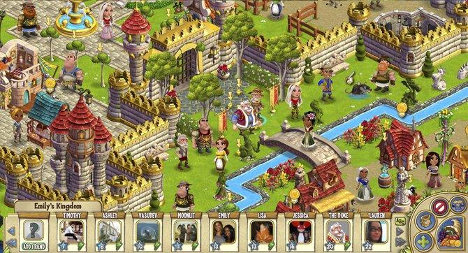 Castleville ist das neue Online-Spiel von Zynga.