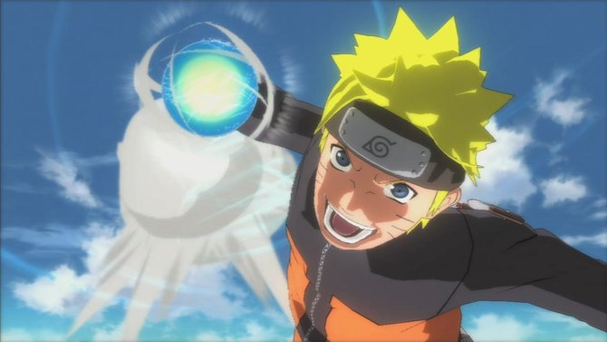 Naruto mit seinem wohl mächtigsten Angriff: dem Rasengan.