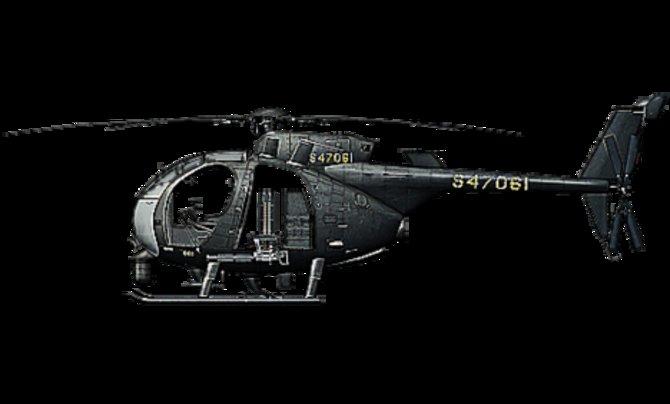 AH-6J LITTLE BIRD