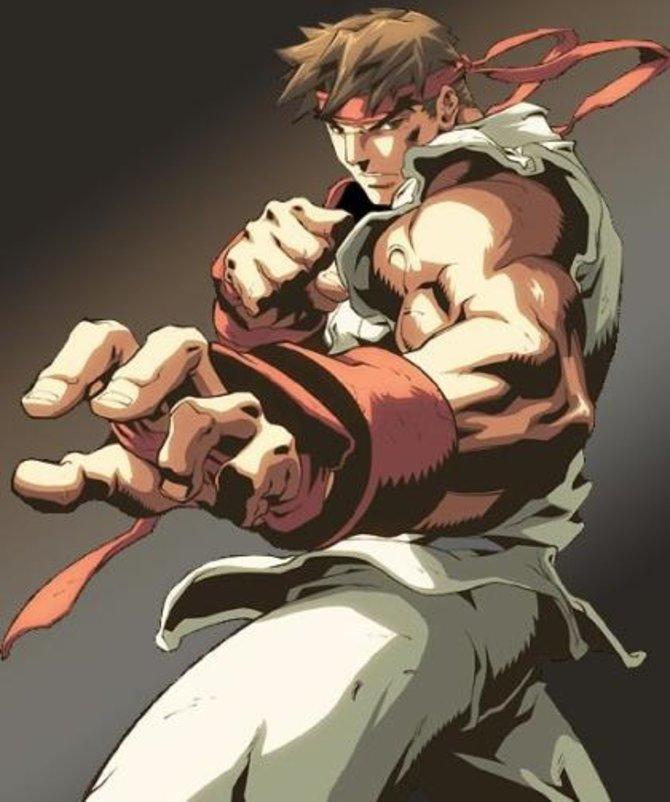 Der japanische Kämpfer Ryu ist der optimale Einsteiger-Charakter.