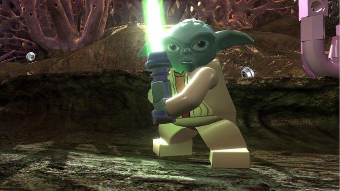 Meister Yoda stellt sich dem Kampf