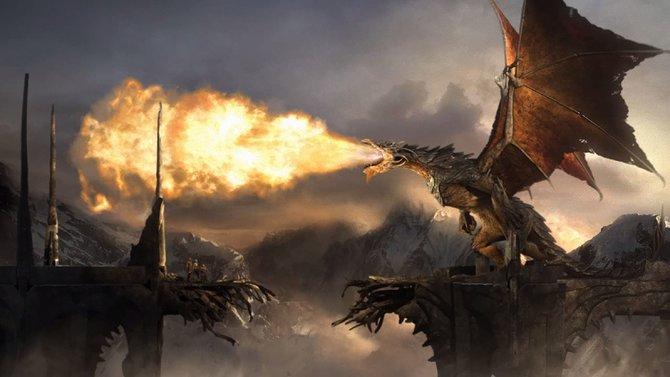 Die Welt von Mittelerde hat viele böse Wesen. Drachen gehören dazu.