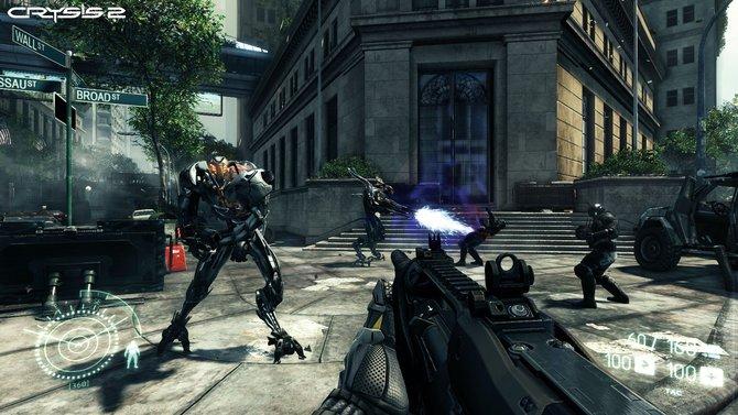 Die Aliens in Crysis 2 sind gegenüber Teil 1 zweibeinig. Warum bleibt unklar.