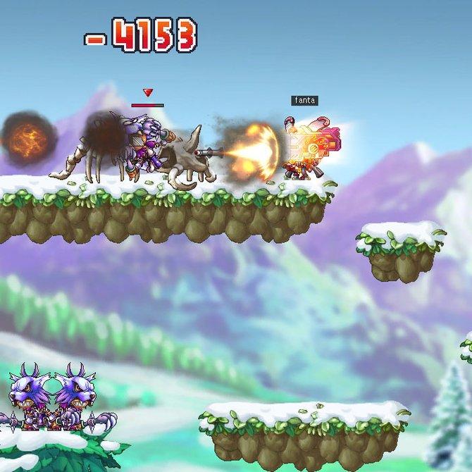 Jump'n Run Grafik trifft Action-Rollenspiel.