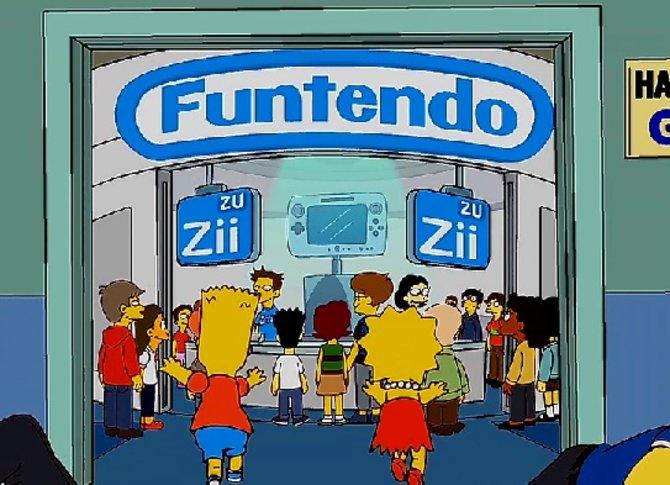 Auf der E4 erobern die Simpsons Funtendos neue Spielekonsole: die Zii Zu
