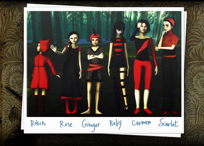Sechs Schwestern erwarten euch bei The Path.