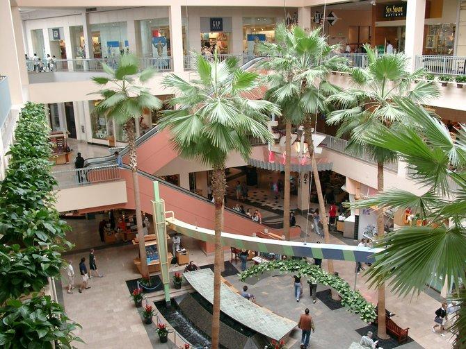 Los Angeles mit seinen gigantischen Shopping-Malls ist der Tod ...